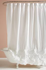 Ruffle Shower Curtain Anthropologie Rivulets Shower Curtain Anthropologie White Shower Curtains