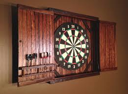 best dart board cabinet best rustic barn cabinet doors with barn door distressed wood