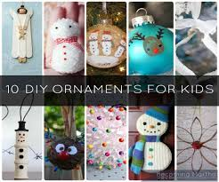 image collection homemade christmas ornaments for children all