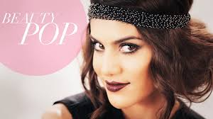 do it yourself hairstyles gatsby you tube great gatsby inspired 1920s flapper makeup full look beauty pop