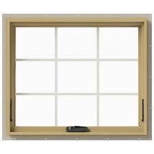 tafco windows 36 in x 34 87 in jalousie utility louver aluminum