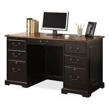Antique Pine Computer Desk by Riverside Bridgeport 54 In Flat Top Computer Desk Hayneedle