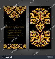 gilded decorative ornaments vector vector artificial