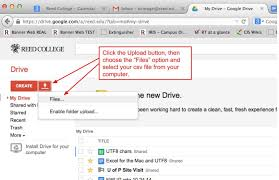 Google Drive Desk Reed College Cis Help Converting Csvs With Utf8 Data For