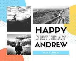 birthday photo collage templates canva