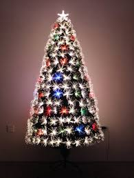 firework multi colour fiber optic christmas tree holiday stuff