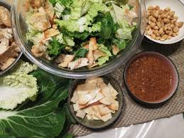 What Is A Main Dish - eclectic thai crunch salad with peanut dressing beyondgumbo
