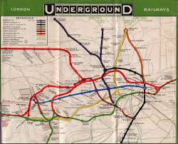 underground map the underground turns 150 see how the map has changed