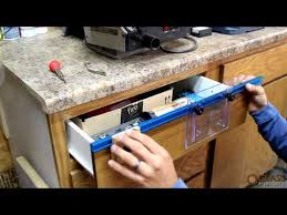 cabinet hardware drilling jig rockler deluxe drawer pull jig it drawers