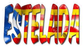 Estelada Flag Estelada Word 3d Illustration With A Flag Texture On An Isolated