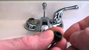 How To Repair A Washerless Faucet Plumbing Tips YouTube - Leaky faucet bathroom 2