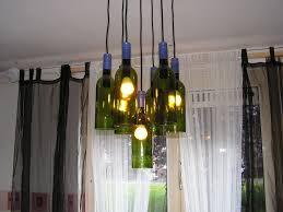 enchanting wine bottle chandelier kit for home decor interior