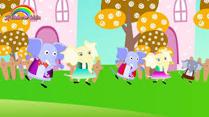 kitty jumping bed nursery rhyme song music video