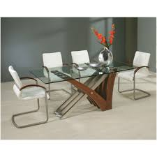 7 piece glass dining room set marceladick com