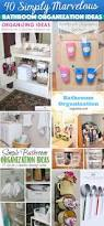 Ideas For Bathroom Shelves 40 Simply Marvelous Bathroom Organization Ideas To Get Rid Of All