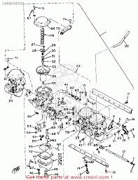 carburetor assembly 3 xs1100 1981 b usa 3j61490300
