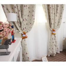 Nautical Curtain Fabric Classic Gray Sailboat Nautical Curtains With Poly Cotton Fabric