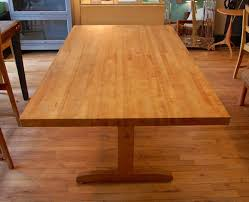 butcher block table designs appealing butcher block dining room for table ideas of and ikea