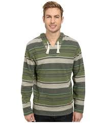 baja sweater mens lyst woolrich baja hoodie in green for