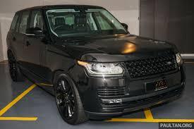 dalam kereta range rover range rover piet boon suv mewah rekaan istimewa dibina hanya