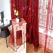 Kitchen Curtains Red by Black And Red Lace Curtains Red Black White Kitchen Curtains Red