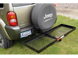 cargo rack for jeep zee hitch mounted cargo carriers realtruck com
