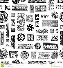 ethnic handmade ornament seamless pattern for stock vector