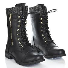 s lace up combat boots size 12 amazon com pairs s winter lace up combat booties