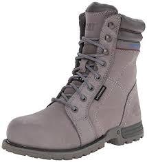 womens steel toe work boots near me caterpillar echo waterproof steel toe work boot womens
