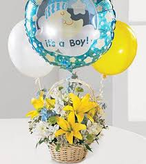 balloon delivery naples fl it s a boy newborn gift naples fl new baby gifts