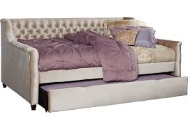 alena champagne 3 pc twin daybed with trundle trundle beds colors