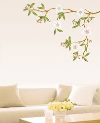 blossom flowers tree wall stickers wallstickery com blossom flowers tree wall stickers