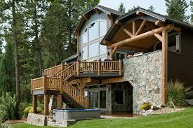 lakeside montana builders flathead lake custom home