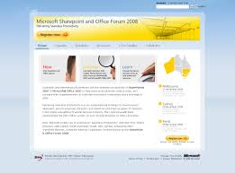 microsoft sharepoint and office forum case study the sharepoint and office forum website home page