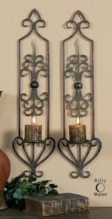 Wall Candle Holders Sconces Sconce Wooden Candle Holders Tuscany Candle Sconce Large Tuscan