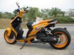 modifikasi motor beat putih   Kumpulan Modifikasi Motor Honda Beat