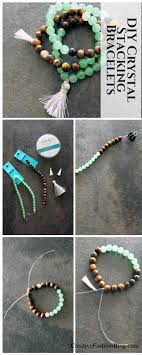 stone bracelet diy images Diy crystal elastic beaded bracelets make your own stone jpg