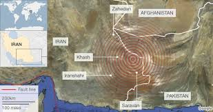 middle east earthquake zone map major earthquake strikes south east iran news
