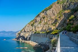 Manarola Italy Map by The Azure Trail Riomaggiore Manarola Path Of Love
