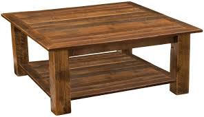 Open Coffee Table Barnwood Open Coffee Table By Fireside Lodge Affordable Coffee