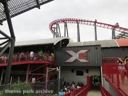 Six Flags X2 X2 At Six Flags Magic Mountain Theme Park Archive