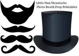 photo booth props diy moustache photo booth printable props baby shower ideas
