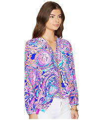 Lilly Pulitzer Swell Lilly Pulitzer Elsa Top At Zappos Com
