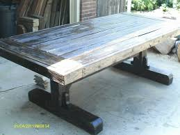 Dining Room Tables Reclaimed Wood Custom Wood Dining Tables Home And Furniture