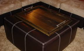 Ottoman Coffee Table Tray Furniture Inspiring Large Ottoman Tray For Home Furniture Ideas