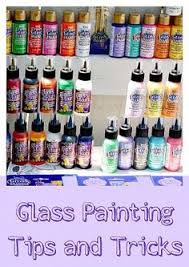 comprehensive guide to the types of glass paints and the look they