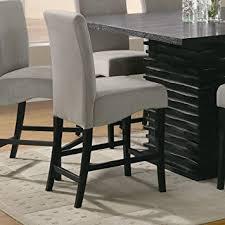 contemporary counter height table amazon com coaster home furnishings 102069gry contemporary counter