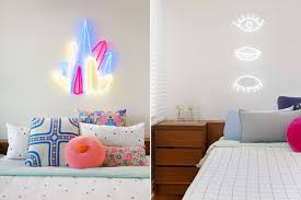 neon signs for home decor artistic color decor amazing simple