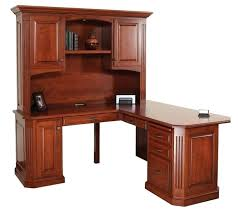 desk wooden desk with hutch solid wood computer desk with hutch