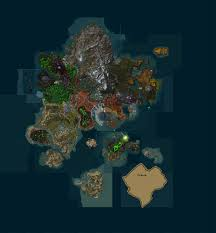 World Of Warcraft Map New And Updated Maps